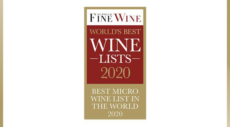 Best Micro Wine List 2020